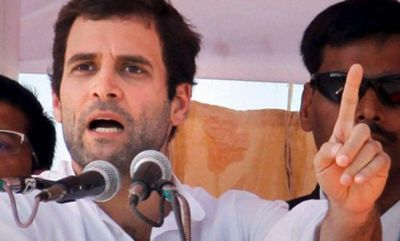 Rahul Gandhi: Modi led government serve only the rich