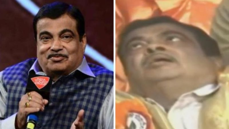 Watch Union minister Nitin Gadkari faints while on stage at Maharashtra event