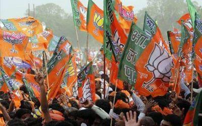 BJP leader protested against Hindu-Muslim married
