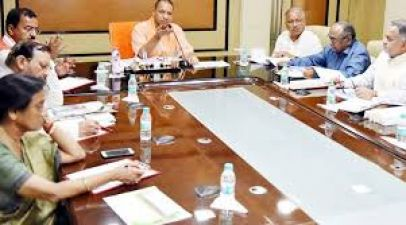 Yogi Adityanath's cabinet  bycotts inaugration programe of  projects worth Rs 508 crore in PM Modi's Lok Sabha constituency Varanasi