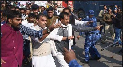 Rashtriya Lok Samta Party called for Bihar bandh