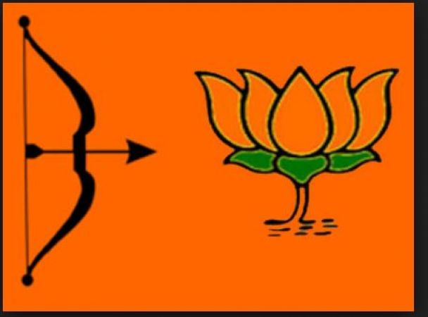 "''With EVM, lotus can blossom even in London and America"" Shiv Sena attacked BJP"