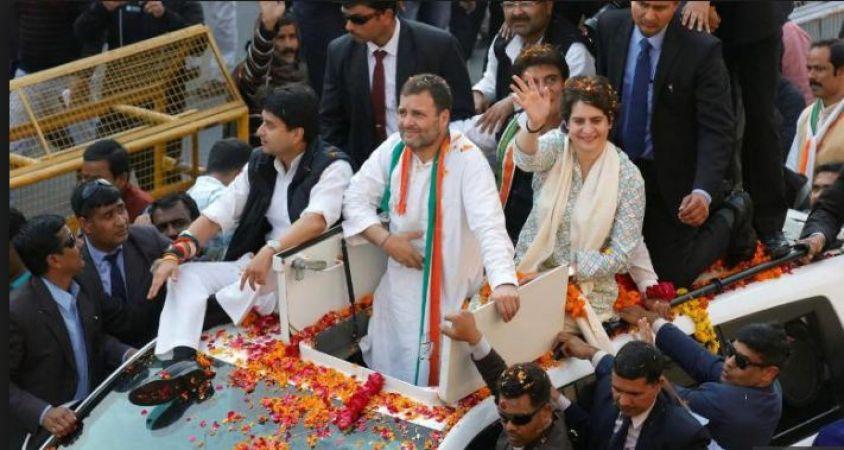 Rahul Gandhi Allocate UP LokSabha Constitution seats among Priyanka Gandhi Vadra and Scindia