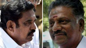 Governor C Vidyasagar Rao asks OPS and K Palanisamy to enlist MLAs