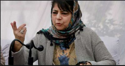 PDP chief Mehbooba Mufti courted controversy by stand in support of Yasin Malik's arrest