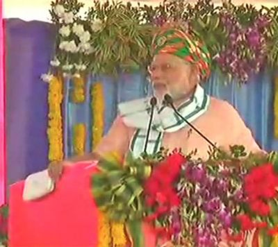 Modi in Gujarat Live:Daman has become a mini-India, says PM Modi