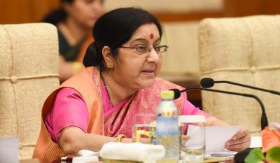Sushma Swaraj rakes up Pulwama attack in strong words with Wang Yi