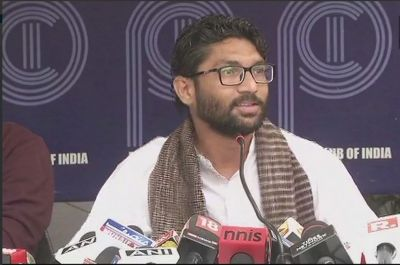 Omg! Jignesh Mevani condemned Dr. Ambedkar in his 'offensive' speech
