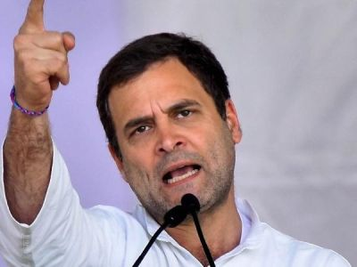 'Be a man and answer my question' Rahul Gandhi attack PM Modi over Rafale deal