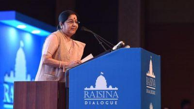 Terrorism is mother of all disruptions: Sushma Swaraj