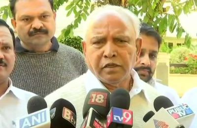 BS Yeddyurappa calls back BJP MLA's of Karnataka, to avoid being