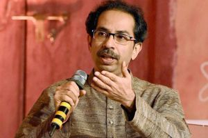 Shiv Sena chief Uddhav Thackeray targeted BJP while addressing a rally