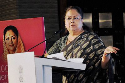Cong accuses Raje Govt of Spending Rs 7 Crore to Ferry Beneficiaries Jaipur
