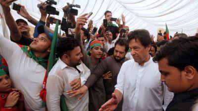 Pakistan elections: Imran Khan, Hafiz Saeed's son  in terror hit-list