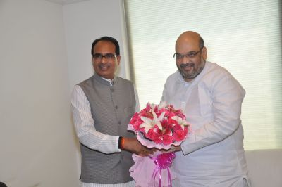 CM Shivraj Chouhan and Amit Shah to launch 'Jan Ashirwad Yatra' today