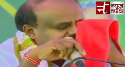 Kumaraswamy gets emotional, not happy after becoming a CM