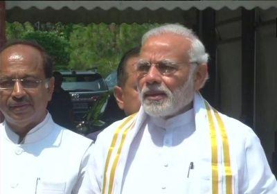 PM Modi hopes for a fruitful Parliament monsoon session