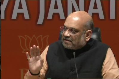 I firmly believe NRC Assam is for the security of the country: Amit Shah on NRC row