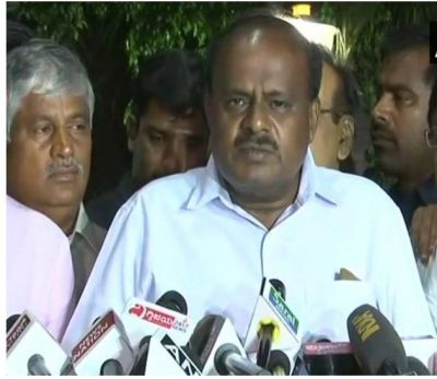 Congress-JD(S) to share portfolios equally says Kumaraswamy