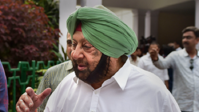Punjab Chief Minister Amarinder Singh  meets party panel in Delhi
