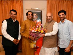 BJP -Shivsena tie-up: Uddhav Thackeray seeks to contest 152 seats