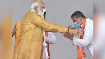 West Bengal BJP MLA Suvendu Adhikari meets PM Modi in Delhi