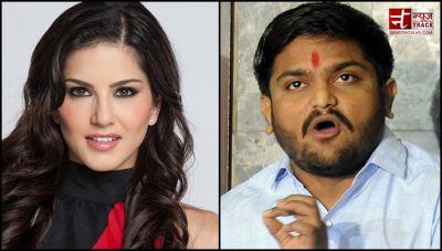 Hardik Patel backs Sunny Leone saying She deserves Respect Like Sridevi and Madhuri