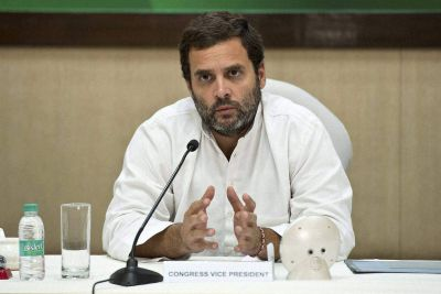 Rahul Gandhi says, Grand alliance against BJP a sentiment of people