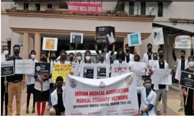 Chennai: India's medical body protests violence against doctors, demand better protection