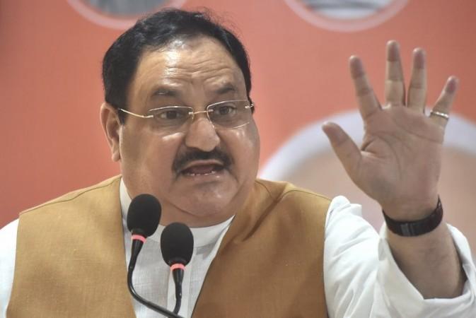 भाजपा प्रदेश कार्यकारिणी की बैठक को संबोधित करने राजस्थान पहुंचे जेपी नड्डा
