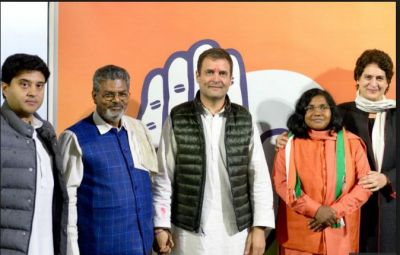 Ahead LokSabha Election, Former BJP Member and Ex-SP leader joined Congress