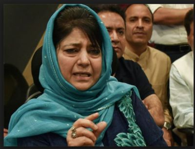 Mehbooba Mufti claimed Govt. wants to exploit airstrike to reap electoral benefits