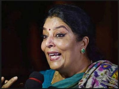 Congress Rajya Sabha member Renuka Chowdhury react on 'comparing PM with terrorist' remark