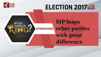 Election poll fervor is at the peak; BJP leaps other parties with great difference in Uttarakhand