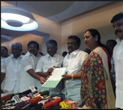 DMDK sealed an electoral pact with BJP-AIADMK-PMK coalition