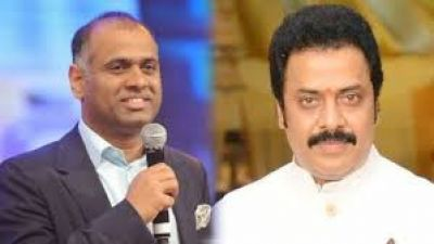 Industrialist and Producer PVR and actor Raja Ravindra  joined YSR Congress Party