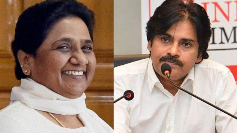 I want to See Mayawati as PM: Pawan Kalyan