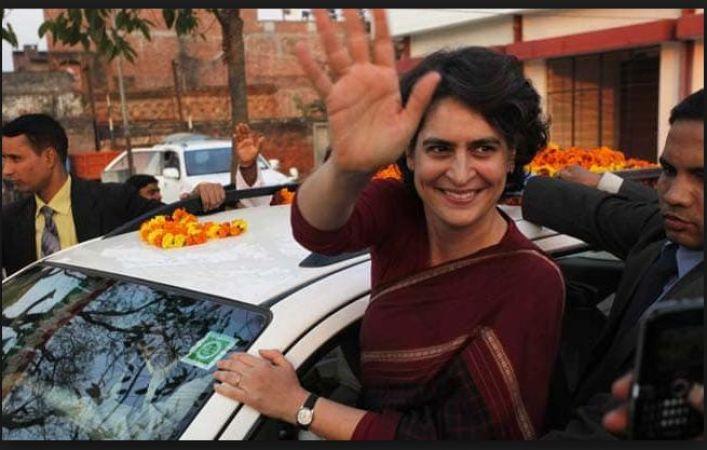 Priyanka Gandhi will begin her three-day tour from Prayagraj to Varanasi today