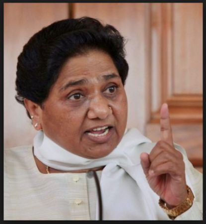 Mayawati warns Congress party on noted a false impression on...