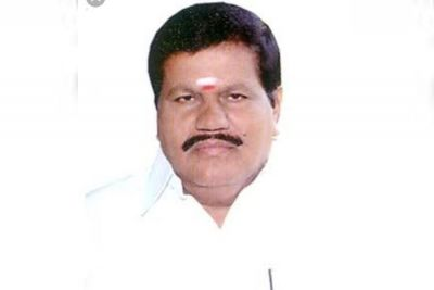AIADMK leader R Kanagaraj Died while reading the newspaper