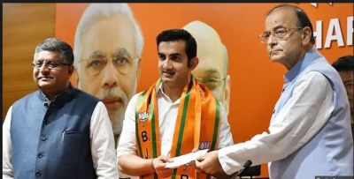 Former India cricketer Gautam Gambhir began a new inning to join BJP, contest LS Poll from….