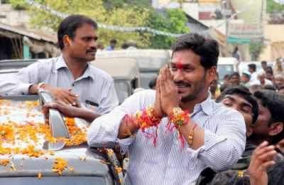 YS Jagan Reddy files Nomination for Pulivendula Assembly seat