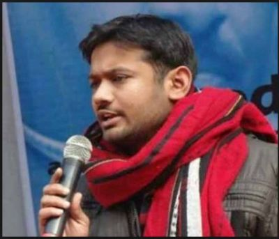 Kanhaiya Kumar appealed to people to donate Rs.1 for his election campaign fund