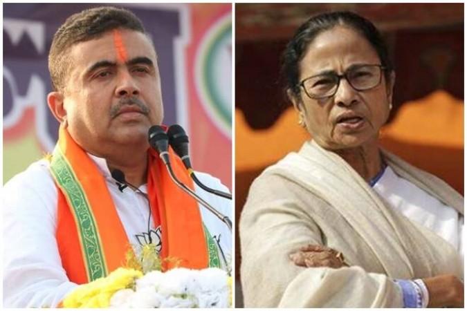 बंगाल नंदीग्राम सीट अपडेट- भाजपा के सुवेंदु अधिकारी ने ममता बनर्जी को हराया