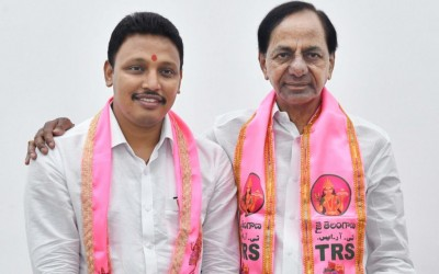 Nagarjunasagar by poll : CM KCR congratulated TRS candidate and thanked voters
