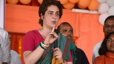 Priyanka Gandhi Vadra accuses BJP of sending bribes to villagers in Amethi