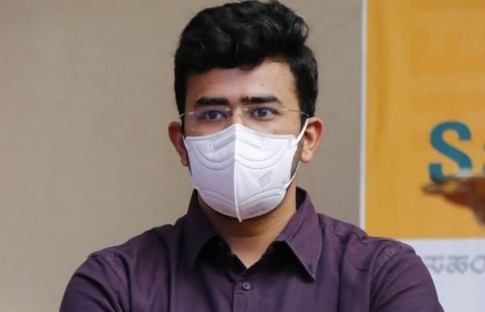 भाजपा सांसद तेजस्वी ने बीबीएमपी पर बड़े घोटाले का  लगाया आरोप, कहा- रिश्वत के बदले में दिए गए कोविड बेड