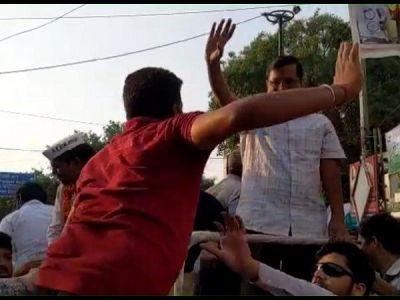 Arvind Kejriwal Slapped in Roadshow; AAP Accuses BJP