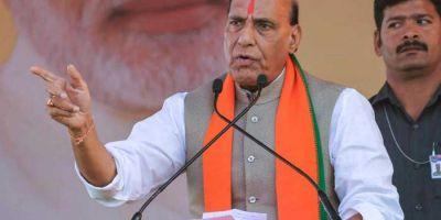 Rajnath Singh slams Congress, says Congress weakening the fight against terrorism