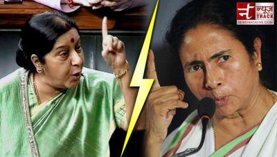 Sushma Swaraj hits out at Mamata Banerjee, says